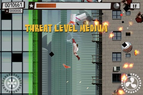 The Hero coming to save the day on iPhone