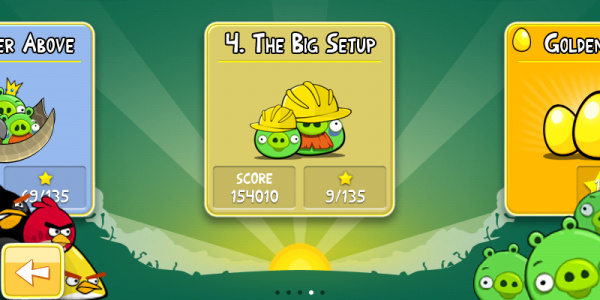 Angry Birds The Big Setup 3-star video walkthroughs