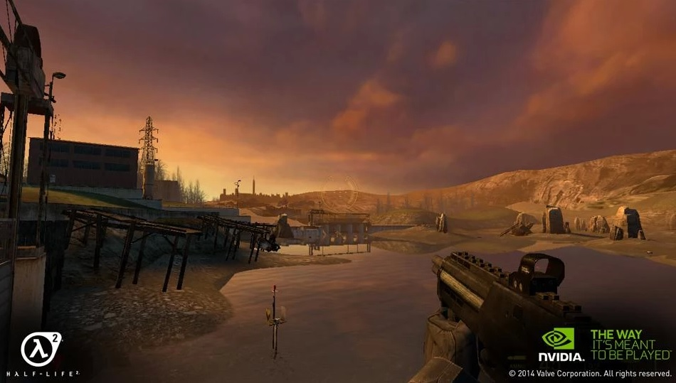 Half-Life 2 and Portal are now available on Nvidia Shield in full and looking good