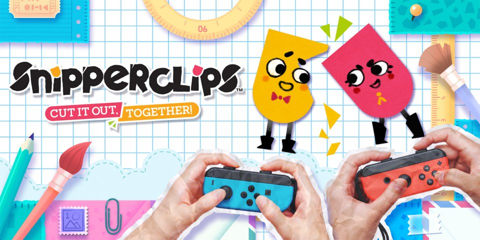 Snipperclips review - Is this the real star of the Switch launch roster?