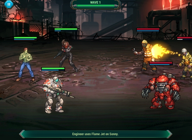 [Update] Sonny is a sci-fi turn-based RPG from Armor Games, available now on iOS