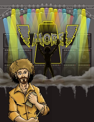 Why be Robert Plant, Dave Grohl, or Caleb Followill when you can be the... Cowbell Hero!