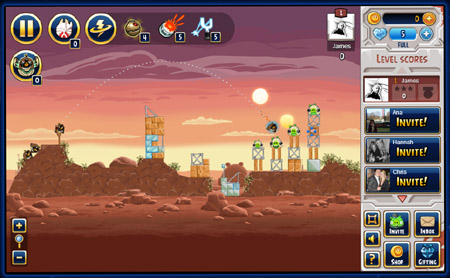 Angry Birds Star Wars Facebook beta introduces thermal detonators and blaster droids