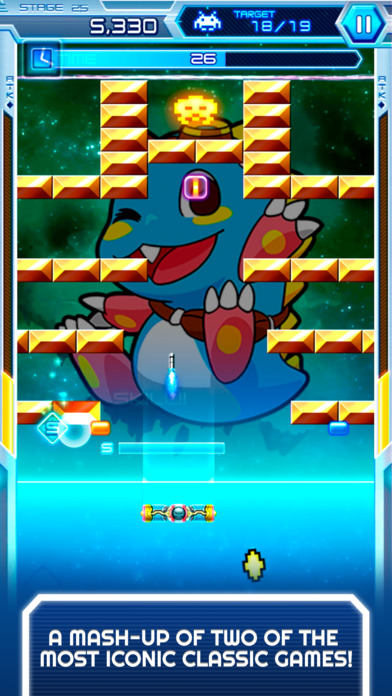 Arkanoid vs Space Invaders is an interesting mash up of two classic IPs, out now on Android and iOS