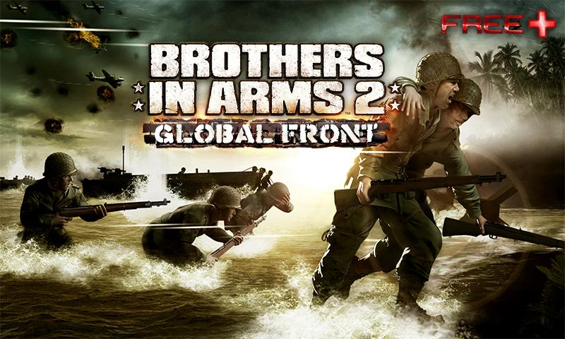 Gameloft launches modern warfare shooter Brothers in Arms 2: Global Front on the official Android Market as a freemium game