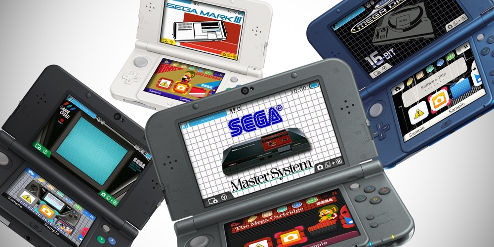 Turn your 3DS into a retro Sega console with new themes out this Friday