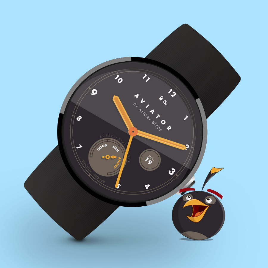 The new Angry Birds app is... a watch face?