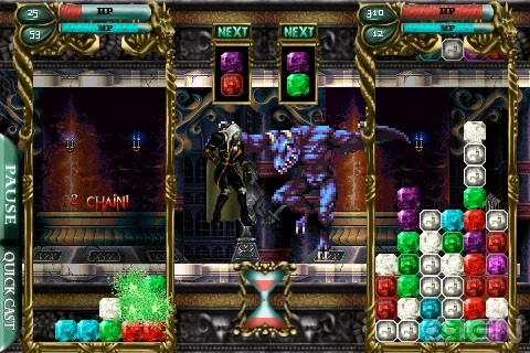 Castlevania Puzzle: Encore of the Night for iPhone reduced to 99c