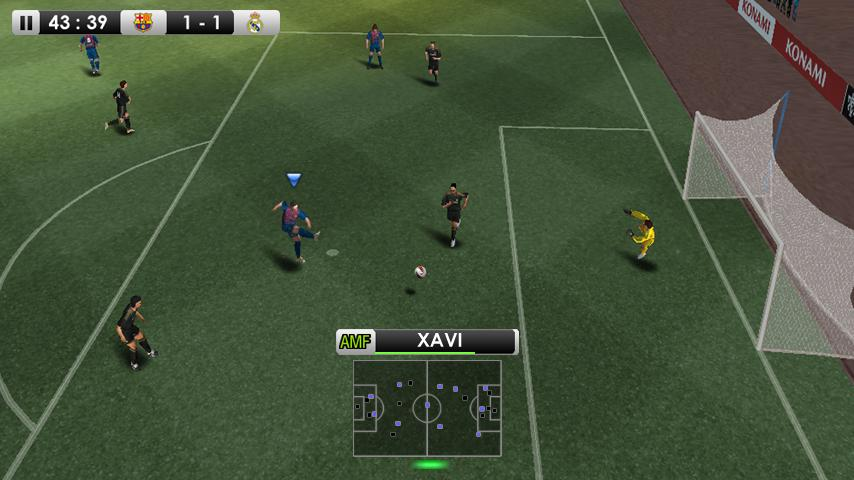 PES 2012 lands on Xperia Play
