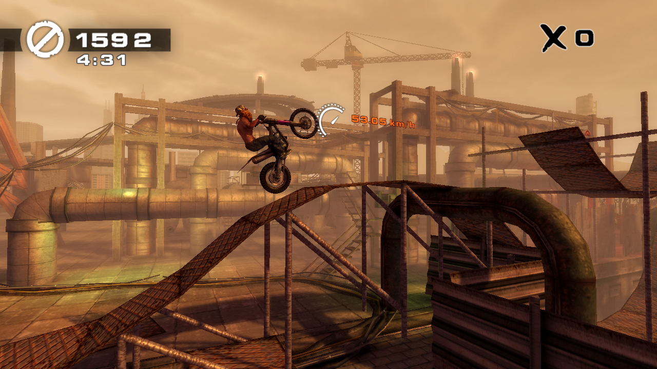 Vita racer Urban Trial Freestyle lets you race against the ghost of the world's best PSN player
