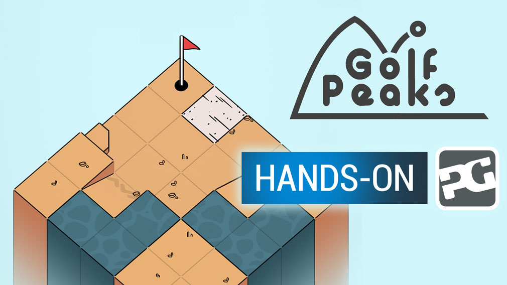 "Golf Peaks hands-on video - ""Big Indie Pitch winner is a hole-in-one"""