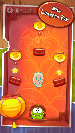 Cut the Rope gets 'Lantern Box' update for Chinese New Year