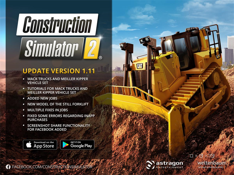 How is astragon celebrating Construction Simulator 2's first anniversary? We chat with the publisher to find out