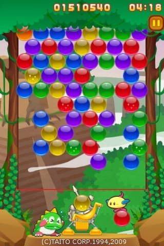 Bust-A-Move (Puzzle Bobble) price drop and in-app purchases on iPhone