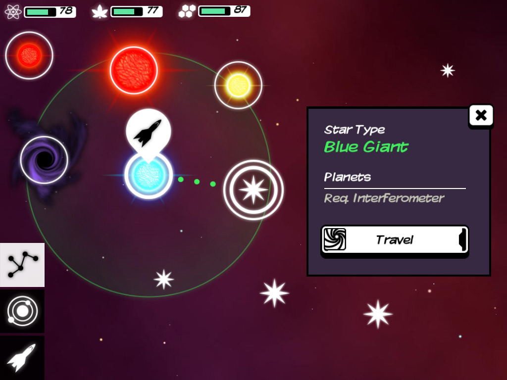 Hands-on with deep space exploration sim Out There for Android