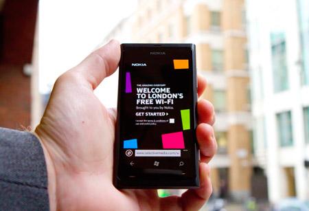 Nokia sponsors free London wi-fi