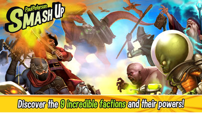 Smash Up is a new digital card game adaptation for iPhone, iPad, and Android