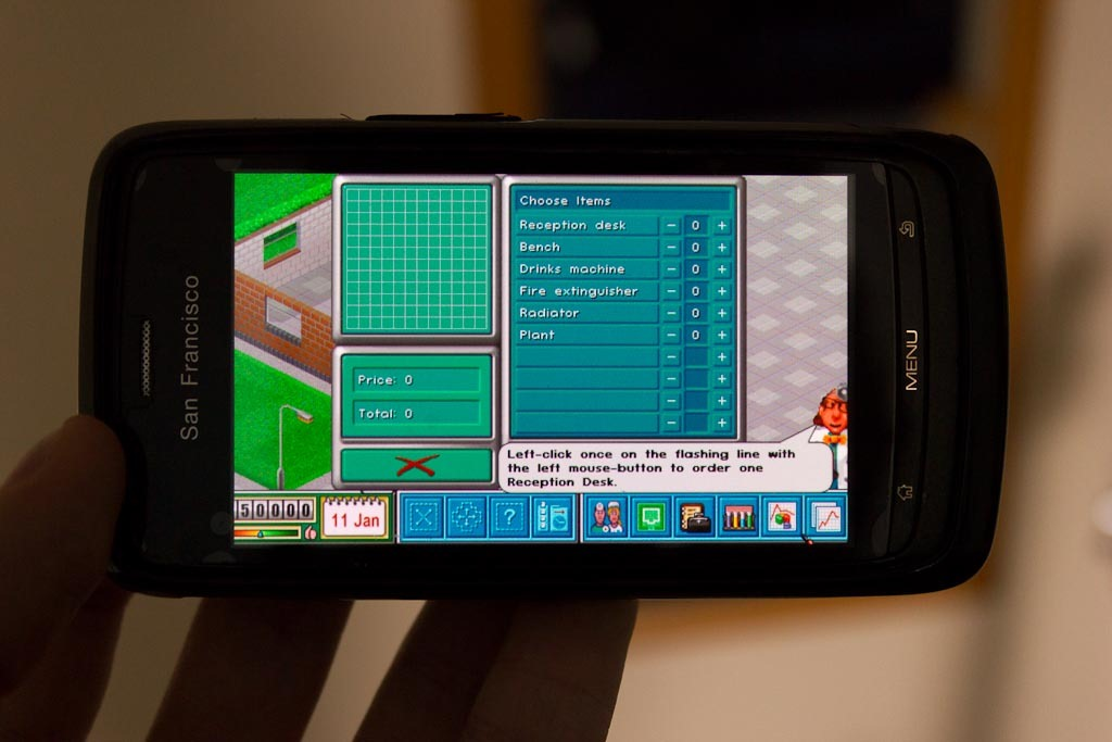 Free version of Theme Hospital available on Android