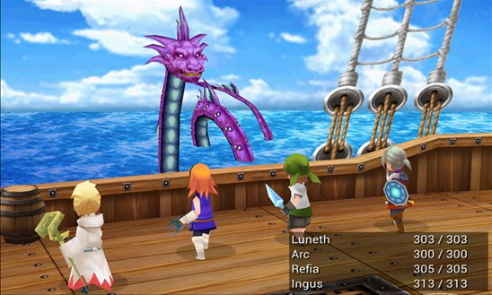 Silver Award-winning JRPG Final Fantasy III is now available for Windows Phone