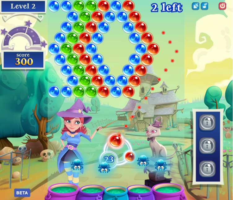 Hands-on with Bubble Witch Saga 2