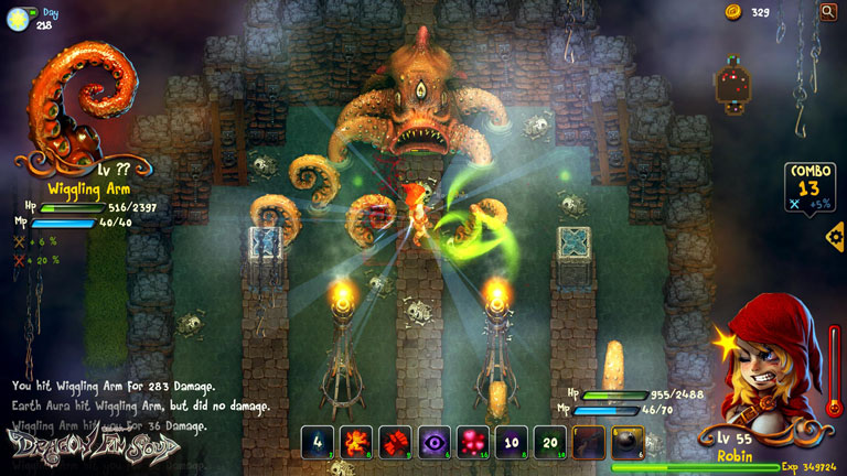 Fairy tale roguelike Dragon Fin Soup: Extra Chunky Edition is coming to iOS and Android this year