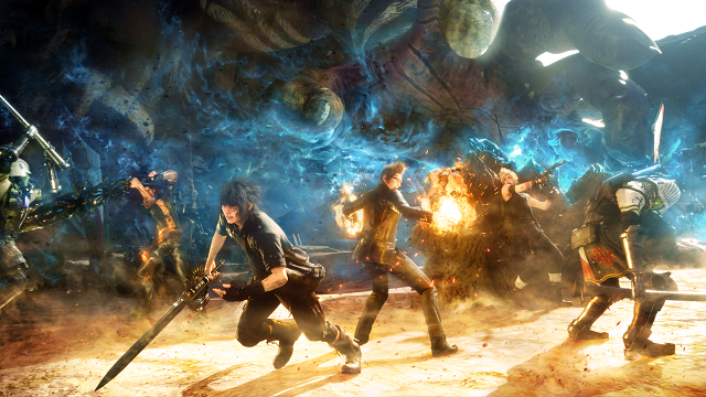 Square Enix and Game of War dev team up to bring Final Fantasy XV to mobile