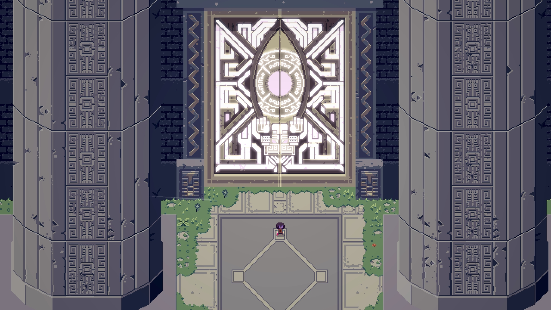 Titan Souls borrows elements from Shadow of the Colossus and Dark Souls for its intense adventure