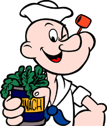 Popeye goes mobile