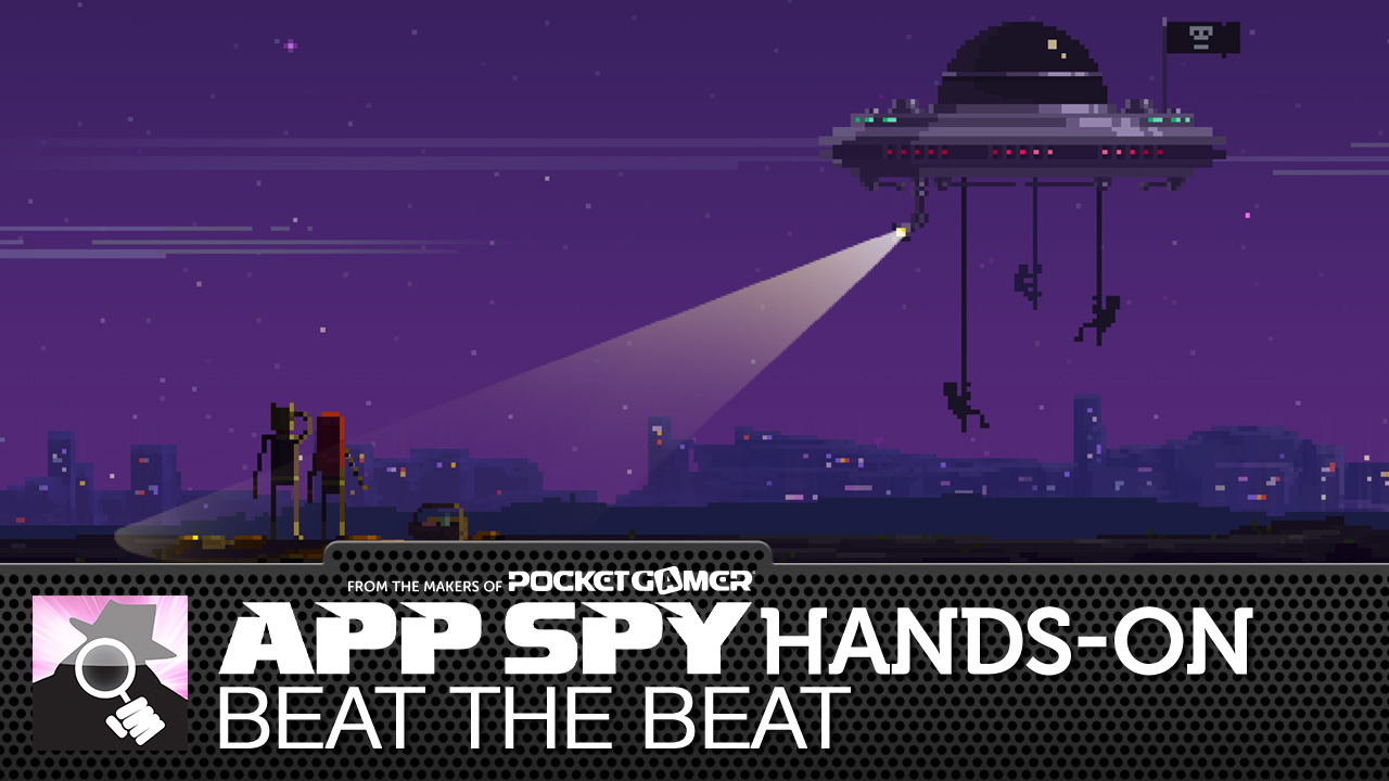 Here's a video of Beat the Beat, your new favourite rhythm action dubstep shmup