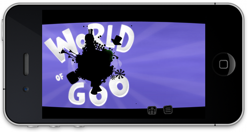 World of Goo iPhone submitted to the App Store, to be a universal app, 59p for 24 hours