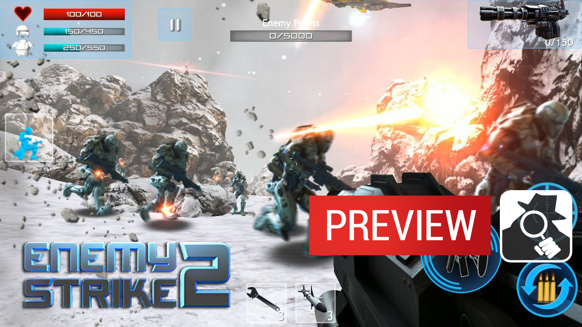 Video Preview: Enemy Strike 2 launches 11 November with more enemies and more strikes