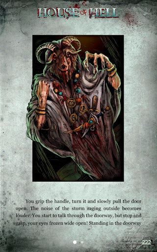Fighting Fantasy novel House of Hell creeps onto iOS and Android