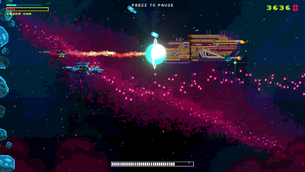 "Black Paradox featured review - ""A soft roguelike that's filled with hot arcade action"""