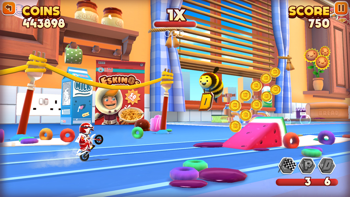 Joe Danger Infinity gets daily challenges in free update on iOS