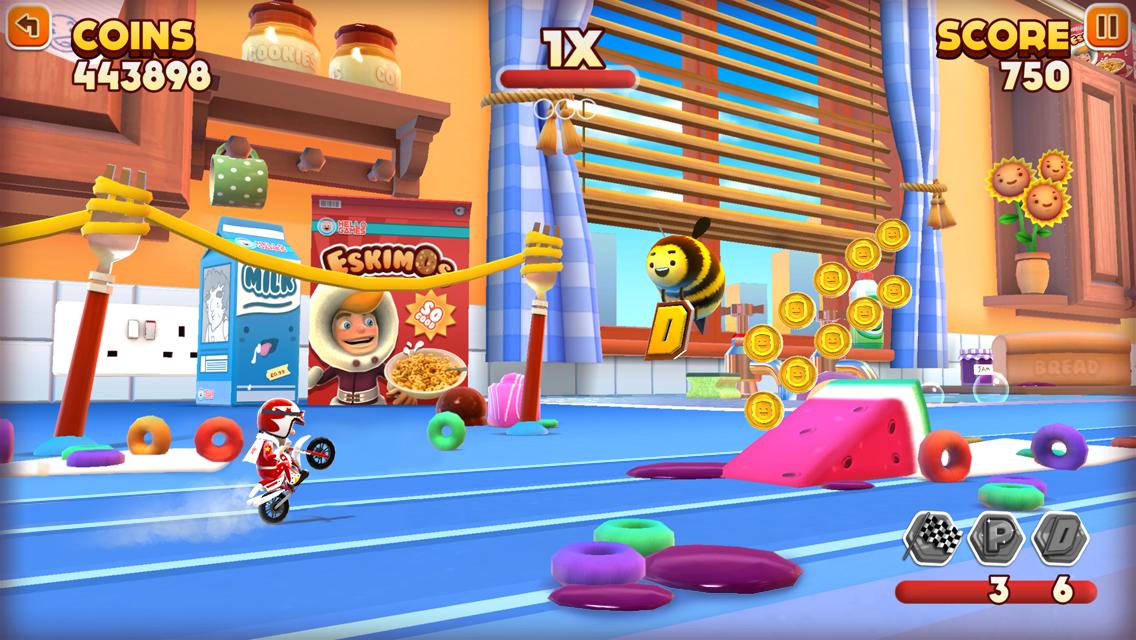 Joe Danger Infinity gets daily challenges in free update on iOS