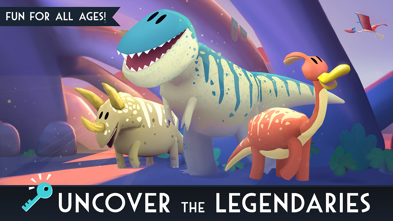 [Update] Jurassic GO - Dinosaur Snap Adventure is ready for its close up, out now on iTunes