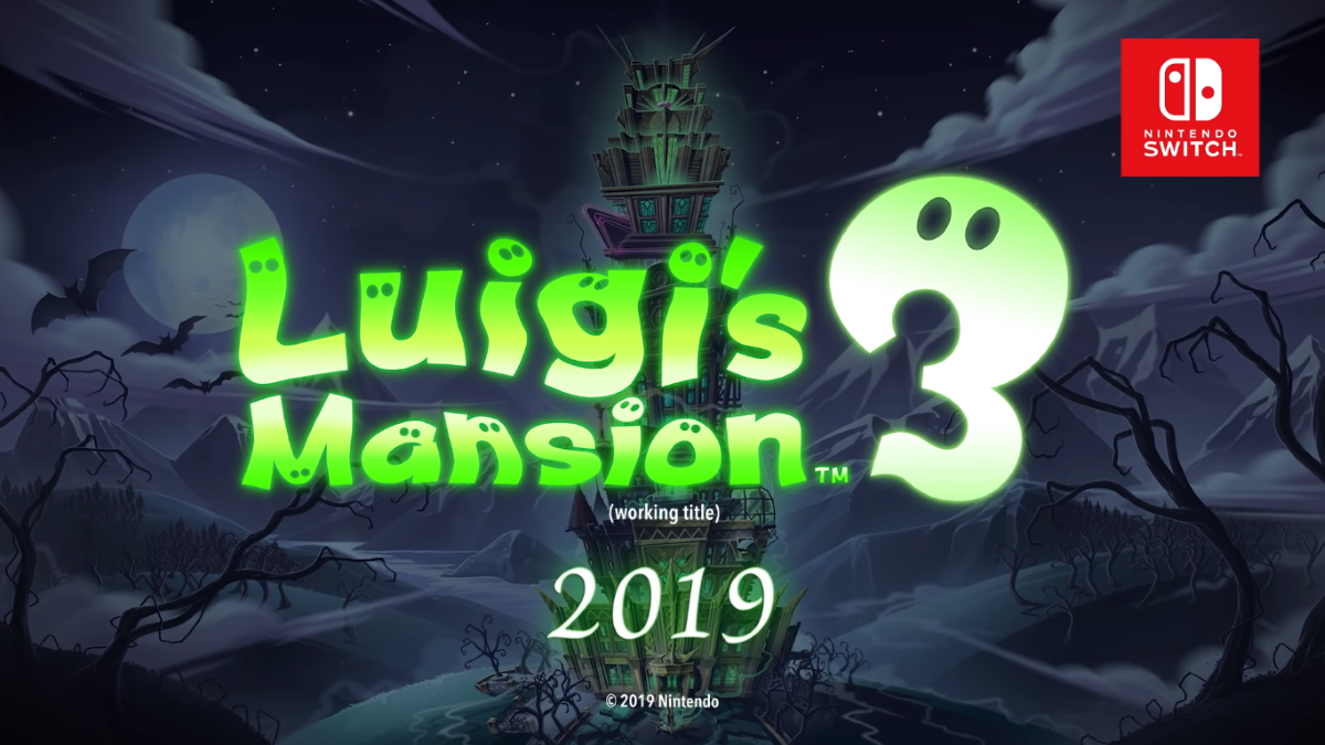 Luigi's still alive and busting ghosts in Luigi's Mansion 3, coming to Switch next year