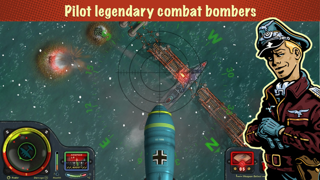 Engage in combat in the skies above Britain with iBomber Winter Warfare