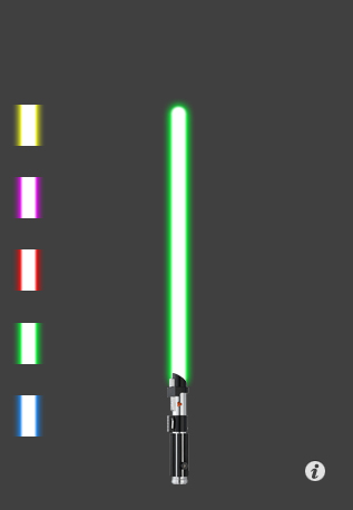 Turn your iPhone into a Star Wars lightsaber