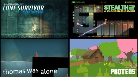 Curve Studios is selling a bundle of 4 great indie games for the price of 1 on PSN