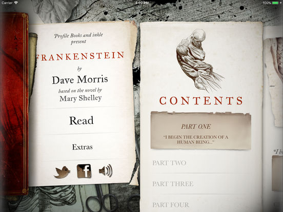 Critically acclaimed interactive gamebook Frankenstein gets a 200th anniversary update