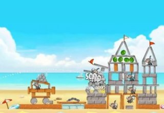 Angry Birds Rio Beach Volley 3-star walkthroughs