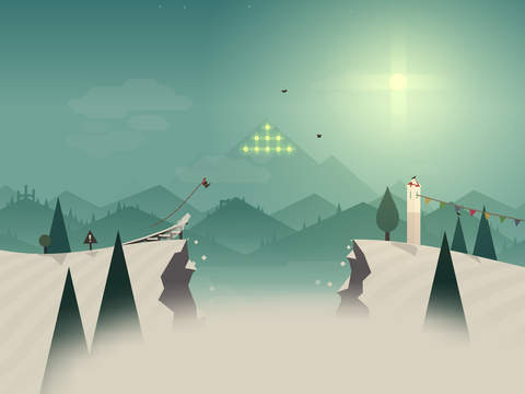 Soulful snowboarding odyssey Alto's Adventure lands on iPhone and iPad