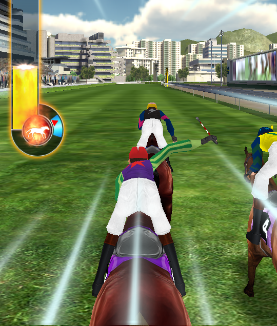 Jockey Viva Go is the horse racing simulator that lets you pony up with friends