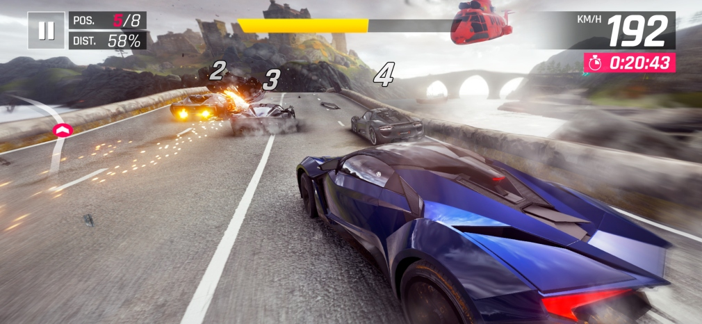 Asphalt 9's winter update is making the game look even sharper