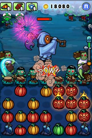 The best of free Android gaming: Pumpkins vs. Monsters is like Plants vs. Zombies meets Bejeweled