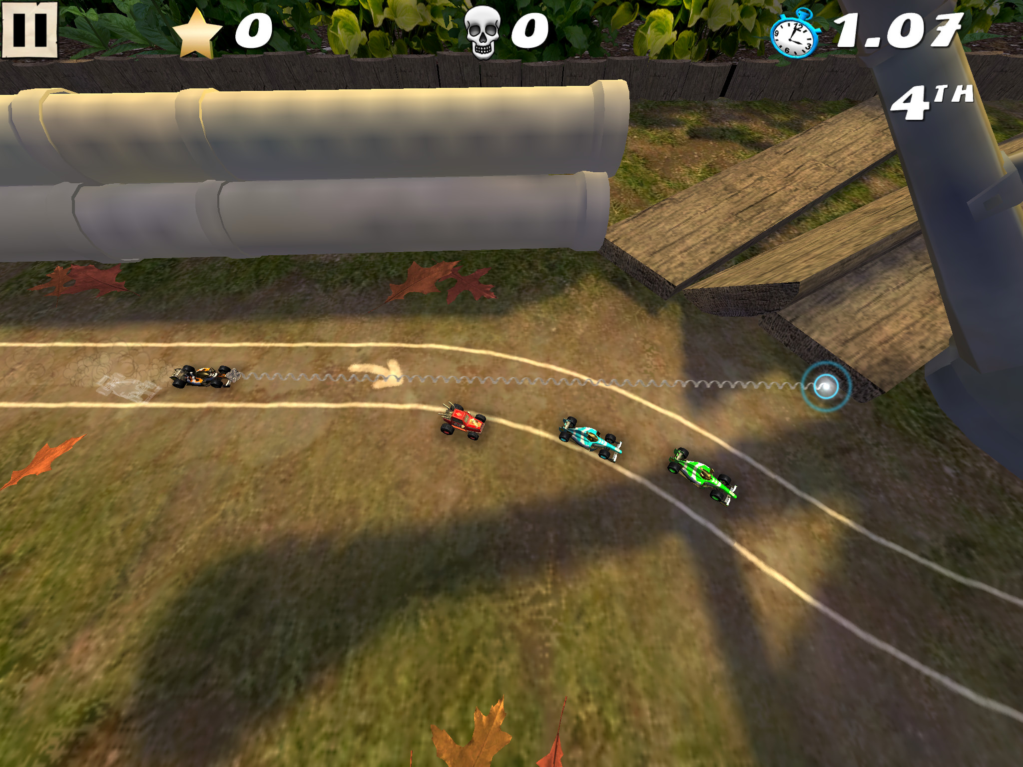 Swing Racers - Woozy graphics spoil the fun