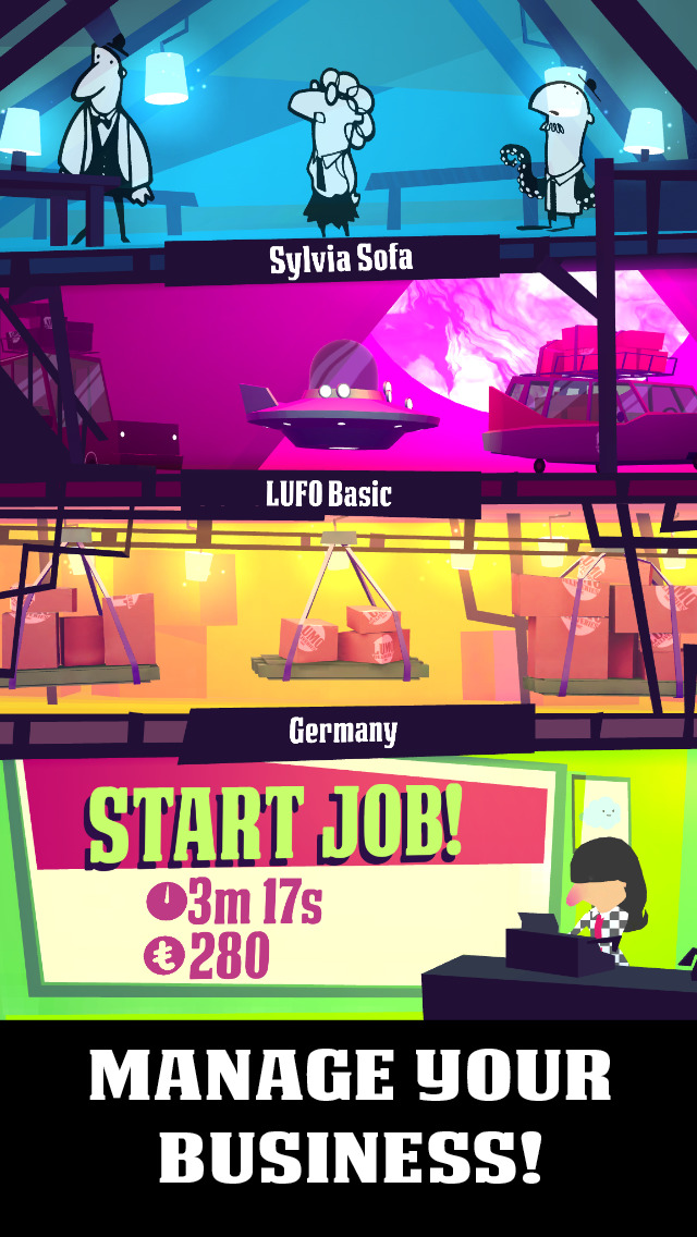 Quirky time management game Lumo Deliveries plops through the App Store's letterbox