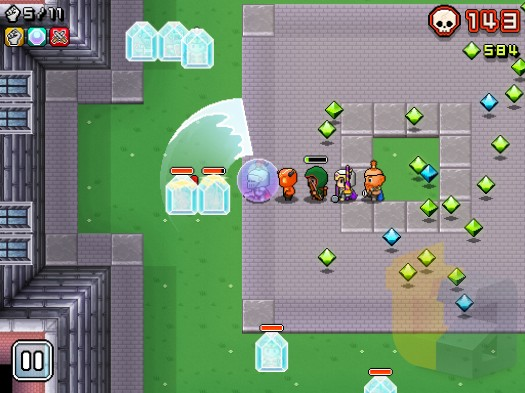 How to walk the walk in Nimble Quest - hints, tips, and tricks