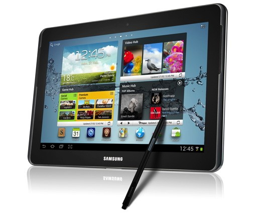 MWC 2012: Hands-on with the Galaxy Note 10.1
